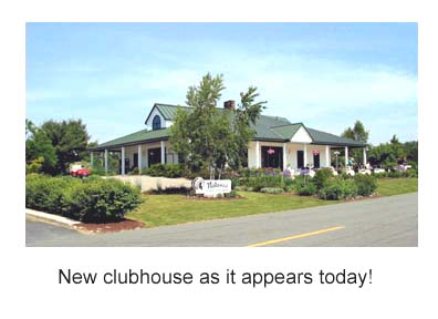 New clubhouse 1995