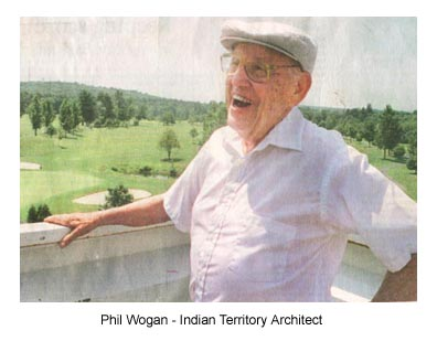 Phil Wogan - Indian Territory Architect