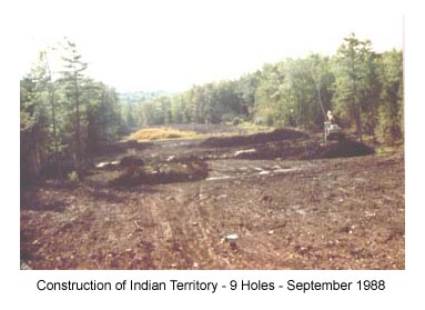 Construction of Indian Territory - September 1988